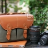 Leather Canvas Big size Bag (CB-002)