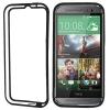 TPU Bumper Frame Case เคส HTC One M8 (Black)