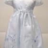 ชุดออกงานเด็กหญิงแขนตุ๊กตาแต่งดอกไม้ช่วงเอวด้านหน้า LL242 S-5