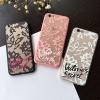 (151-381)เคสมือถือไอโฟน case iphone 6/6S เคสพลาสติกใสลายลูกไม้ใบไม้