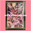 Yu-Gi-Oh! ZEXAL OCG Duelist Card Protector / Sleeve - Extra / Ex Bujintei Susanowo [Used] x4
