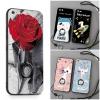 (025-889)เคสมือถือไอโฟน Case iPhone 6Plus/6S Plus เคสนิ่มซิลิโคนลายน่ารักพร้อมแหวนมือถือและสายคล้องคอถอดแยกได้