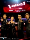 The Voice Thailand Season 4 / เดอะวอยซ์ ไทยแลนด์ ปี 4 (V2D 4 แผ่นจบ+แถมปกฟรี)