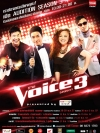 The Voice Thailand Season 3 / เดอะวอยซ์ ไทยแลนด์ ปี 3 (V2D 4 แผ่นจบ+แถมปกฟรี)
