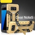 (439-026)เคสมือถือซัมซุง Case Note5 เคสกันกระแทกไอรอนแมนด้านหลังใส่การ์ดได้