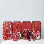 (674-021)เคสมือถือไอโฟน Case iPhone X เคสนิ่มแมวนำโชค