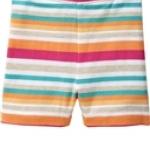 Oldnavy กางเกงผ้ายืดเนื้อดี ลายริ้วสลับสี น่ารักดีค่ะ size 2T