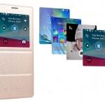 (584-004)เคสมือถือซัมซุง Case Samsung Note4 เคสพลาสติกฝาพับ PU โชว์หน้าจอสไตล์นักธุรกิจ