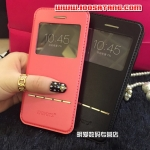 (391-082)เคสมือถือไอโฟน case iphone 6 Plus/6S Plus เคสนิ่ม Flip Cover Leier โชว์หน้าจอ