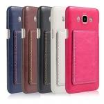 (506-002)เคสมือถือซัมซุง Case Samsung Galaxy J7(2016) เคสพลาสติกพื้นหลัง PU สไตล์หนัง