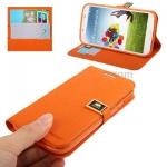 Case เคส Natural Samsung GALAXY S4 IV (i9500)(Orange)