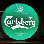 ป้ายไฟcarlberg 2หน้า รหัส141158pf