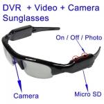 กล้องแอบถ่ายแบบ แว่นกันแดด 640 x 480