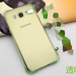 (พร้อมส่ง15)เคสมือถือซัมซุง Case Samsung A8 เคสนิ่มใสสไตล์กันกระแทก Flash LED