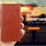 (603-002)เคสมือถือ Case Huawei P8 MAX เคสฝาพับระบายอากาศดีสไตล์หนัง cowhide