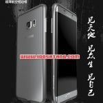 (353-142)เคสมือถือซัมซุง Case Samsung S6 edge plus เคสบัมเปอร์โลหะอลูมิเนียมวัสดุอวกาศ Luphie สุดความแข็งแกร่ง