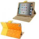 Case เคส 2-color Series Weave iPad 4 (Orange + Yellow)