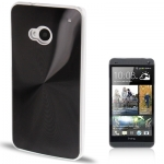 CD Texture Metal HTC One (M7) (Black)