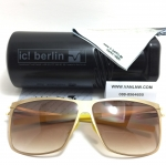 แว่นกันแดด ic berlin model siviob matt gold 62-12 <ดำ>
