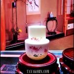 ชุดถ้วยชาแบบดมดื่ม ลายดอกบัวเล็ก ฺ Lotus Express Tea cup TKLG-LT2