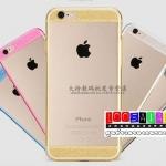 (027-043)เคสมือถือไอโฟน Case iPhone 6 เคสนิ่มใสบางขอบกากเพชร