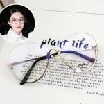 แว่นสายตาแฟชั่น Silver frame Transparent Sheet OF8352 67-16 125 <เงิน>