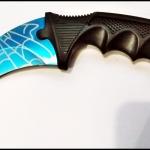 มีดคารัมบิต บลูสไปเดอร์ Blue Spyder Karambit Knife TKKB-BS9
