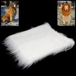 วิกผม แผงคอสิงโต สำหรับสุนัข (White)