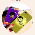 (557-014)เคสมือถือไอโฟน Case iPhone 6/6S เคสนิ่มTPU ลายนูน 3D The Emoji Movie