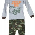 ชุดนอน Baby Gap ลายรถจี๊ป (Jeep) งานส่งออก USA เนื้อผ้าดี สกรีนเนี๊ยบ งานสวยเหมือนแบบ กางเกงมีก้นเผื่อใส่แพมเพิสด้วยค่ะ size 2T-7T