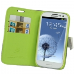 Case Portable Wallet Samsung Galaxy S 3 III (White)