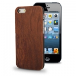 Case เคส Rosewood Material iPhone 5