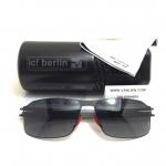 แว่นกันแดด ic berlin model nufenen black 61-16 <ดำ>