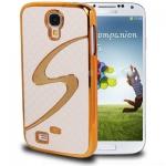 Case เคส ลาย S สีทอง Samsung GALAXY S4 IV (i9500)