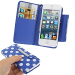 Case เคส Dot Pattern iPhone 5 (Blue)