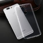 (พร้อมส่ง)เคสมือถือ Case Huawei P8 Lite เคสนิ่มใสพื้นหลังลาย Dot กันรอยนิ้วมือ