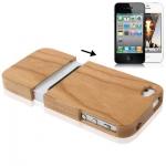 Cherry Wood Case iPhone 4 & 4S