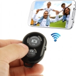 remote shutter (Bluetooth ลั่นชัตเตอร์) for iPhone 5 & 5C & 5S / iPad 3 / iPad 2 / iPad mini / iPad mini with Retina Display / Samsung Galaxy S3 / S4 / Note 3 / Moto X / Nexus 4 (Black)