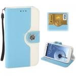 Case เคส 2-color Series Svepa Discoloring Samsung Galaxy S 3 III (Baby Blue)