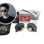 แว่นกันแดด Rayban RB 3561 General 001 57-17 145 3N <ทอง>