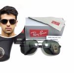 แว่นกันแดด Rayban RB 3387 002 64-15 3N <ดำ>