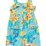 เดรส Crazy 8 Ruffle Floral Knit (blue)
