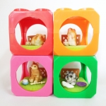 ตุ๊กตาสัตว์เลี้ยง Cubic Room 4 เซ็ต