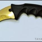 มีดคารัมบิต โกลเด้นสไปเดอร์ Golden Spyder Karambit Knife TKKB-GS8