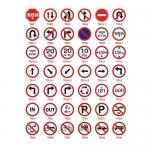 ป้ายเครื่องหมายจราจร แบบวงกลม (Regulatory Signs)