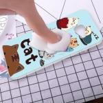 (616-022)เคสมือถือซัมซุง Case Samsung C9 Pro เคสนิ่มการ์ตูน 3D แมว