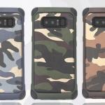 (436-289)เคสมือถือซัมซุง Case Samsung Galaxy Note8 เคสนิ่มเกราะพลาสติกสไตล์กันกระแทกลายพราง