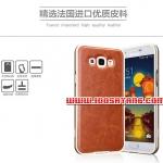 (354-011)เคสมือถือซัมซุง Case Samsung A8 เคสกรอบโลหะพื้นหลัง PU สไลด์เทกเจอร์หนัง