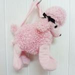 กระเป๋าตุ๊กตาหมาพุดเดิ้ล ของ Pink Poodle Purse