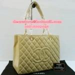 Chanel GST อะไหล่ทอง Top Shopping Bag Soft